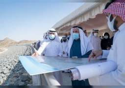 Ruler of Sharjah inspects development projects in Kalba