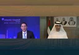 """خلال """"منتدى الطاقة العالمي"""".. سلطان الجابر : قطاع النفط والغاز له دور محوري في إيجاد حلول عملية للحد من تداعيات تغير المناخ"""
