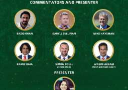 Leading international commentators lined-up for Pakistan-South Africa series