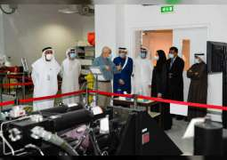 Advanced Technology Minister of State explores UAEU's innovative approach to promoting R&D, 4IR Tech