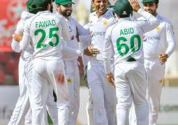 South Africa is out at 245 in 2nd inning of the first Test against Pakistan