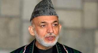 Former Afghan President Karzai, US Chargé d' Affaires Discuss Peace Process