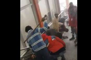 Video of Orange Line security officials beating workers goes viral