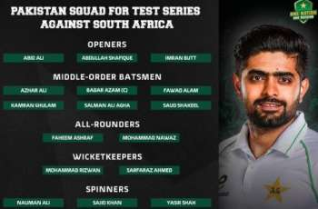 PCB announces squad for Test series against South Africa
