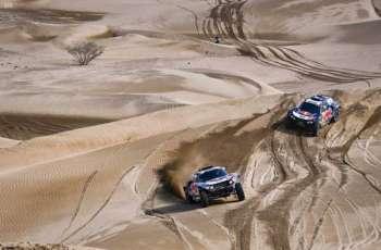 بيترهانسل الفرنسي يحسم لقب السيارات في داكار السعودية