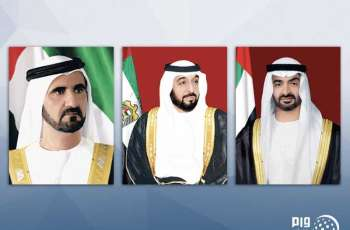 UAE leaders express condolences to President of Indonesia over victims of earthquake