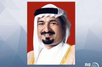 حاكم عجمان يعزي أمير الكويت بوفاة الشيخة فضاء جابر الأحمد الصباح