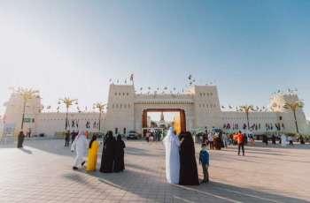 """مهرجان الشيخ زايد .. """"واحة خضراء"""" تروي للزوار مسيرة نهضة زراعية مباركة"""