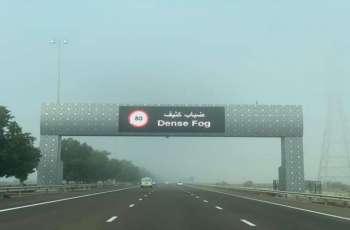 شرطة أبوظبي تدعو السائقين إلى الالتزام بـ