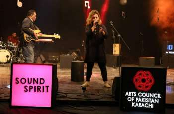 """Sound Spirit"" a live musical performance featuring the young talents of the nation held at the Arts Council of Pakistan Karachi."