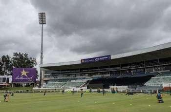 Pakistan women team's glimpses of fielding drills at Kingsmead Cricket Stadium in Durban