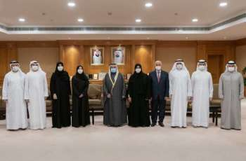 Sheikha Jawaher Al Qasimi receives honorary PhD from University of Sharjah