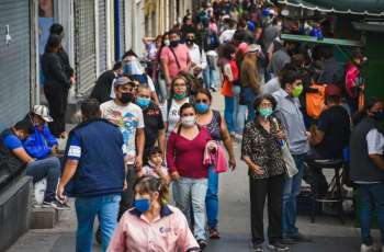 Mexico reports more than 8,000 new coronavirus cases