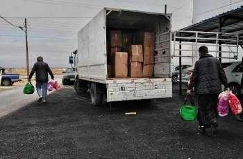 مركز الملك سلمان للإغاثة يواصل توزيع كسوة الشتاء للاجئين والأسر الأكثر احتياجًا في الأردن