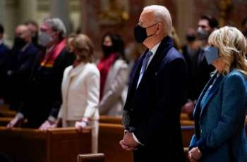 Biden Arrives at US Capitol for Inauguration Ceremony