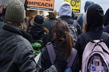Antiwar Coalition Cancels Inauguration Rally, Calls Issued Permit 'Mirage of Free Speech'