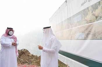 سمو نائب أمير منطقة جازان يتفقد محافظة الريث