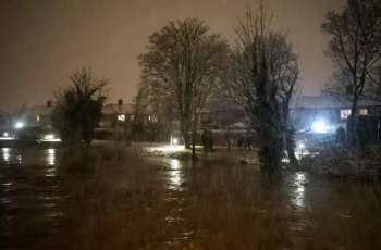 Thousands Evacuated as Storm Christoph Hits Wales, England - Emergency Services