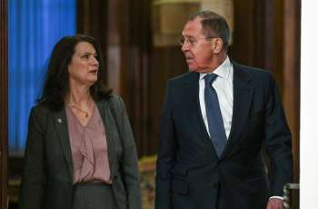 Lavrov to Meet With Swedish Foreign Minister in Moscow on February 2