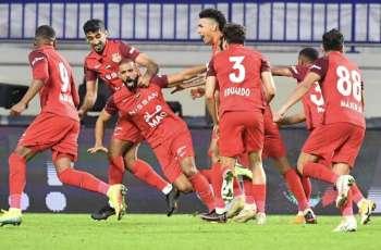 شباب الأهلي بطلا لكأس سوبر الخليج العربي للمرة الخامسة