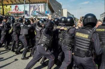 Hundreds Join Opposition Protests in Russia's Far East With Several Police Detentions