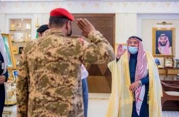 سمو أمير منطقة القصيم يستقبل مدير عام المجاهدين