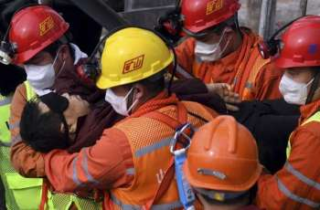 Chinese Rescuers Find Bodies of Nine Workers Trapped Under Gold Mine, After 11 Rescued