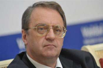 Russia's Bogdanov Says Moscow Expects Visit of UN Envoy for Libya