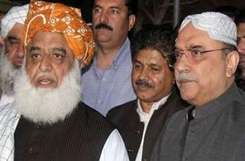 Fazl, Zardari agree to speed up anti-govt  move
