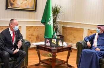 رئيس هيئة حقوق الإنسان يستقبل سفير سويسرا لدى المملكة