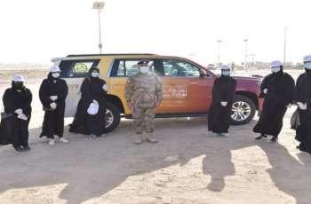 شرطة أبوظبي تشارك في مبادرة بيئية