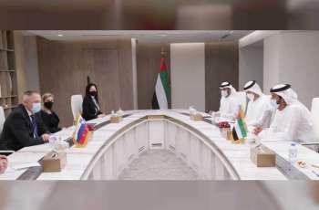 الإمارات وسلوفينيا تبحثان تنمية الشراكة في الأمن الغذائي والسياحة وريادة الأعمال والتكنولوجيا والطيران