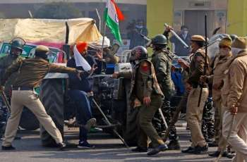 New Dehli witnesses curfew like situation owing to farmers' tractor rally for their rights