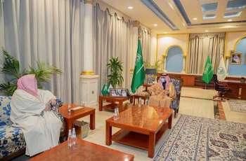 سمو أمير الجوف يستقبل رئيس محكمة الاستئناف بالمنطقة
