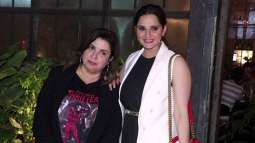 Sania Mirza wishes birthday to Farah Khan