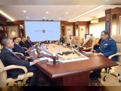 Mohammed Al Bowardi discusses defence cooperation with Iraqi Minister of Defence