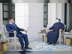 Mansour bin Zayed receives Iraqi Defence Minister