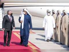 Mohamed bin Zayed, King of Jordan review regional developments