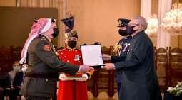 رئیس باکستان یستقبل رئیس ھیئة الأرکان المشترکة للقوات المسلحة الأردنیة