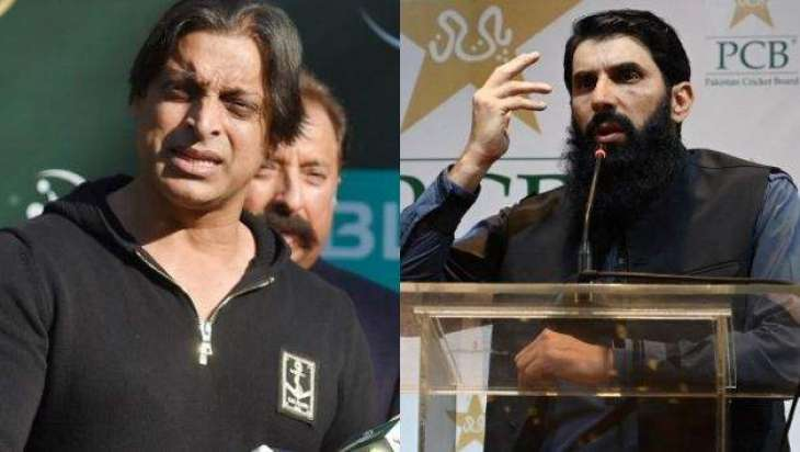 Misbahul Haq removed from the post of head coach, claims Shoaib Akhtar