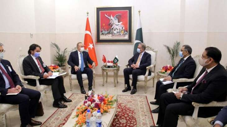 Pakistan, Turkey agree to pursue joint strategy at Int'l level