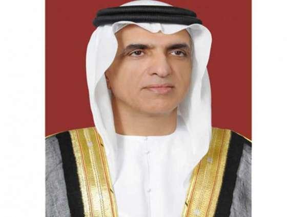 حاكم رأس الخيمة يعزي خادم الحرمين في وفاة الأمير خالد بن عبدالله بن عبدالرحمن