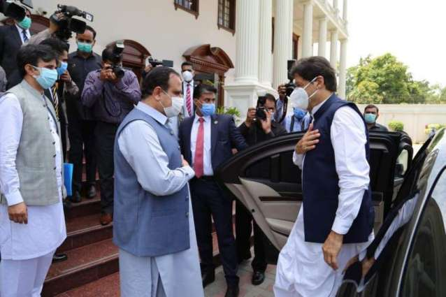 PM arrives in Lahore on day-long official tour