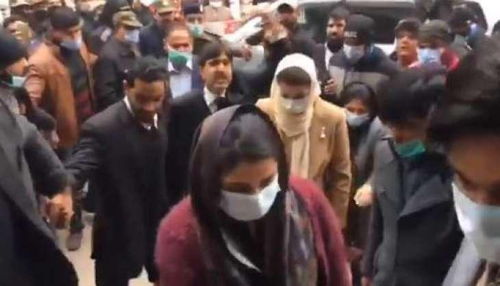 Maryam Nawaz reaches judicial complex to see Shehbaz Sharif