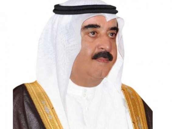 Umm Al Qaiwain Ruler offers condolences to Emir of Kuwait