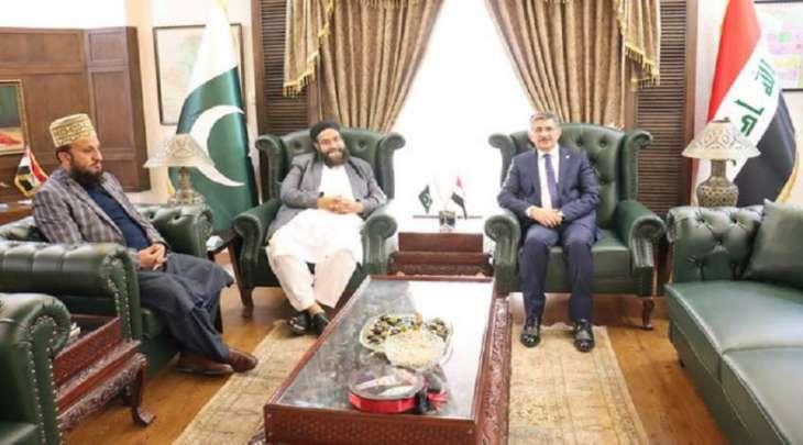 الممثل الخاص لرئیس وزراء باکستان یلتقي السفیر العراقي لدي اسلام آباد