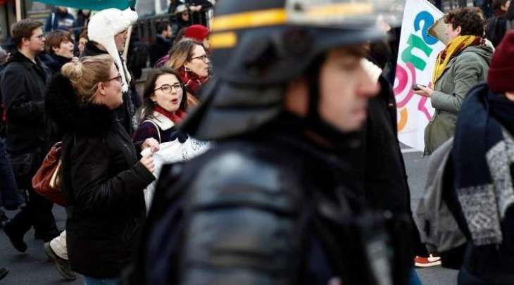 Parisians Gather for 1st March Against Global Security Bill in 2021
