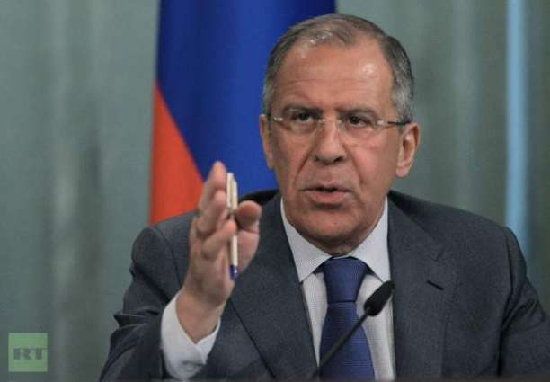 Lavrov Says Navalny Detention Falls Within Competence of Law Enforcement Agencies
