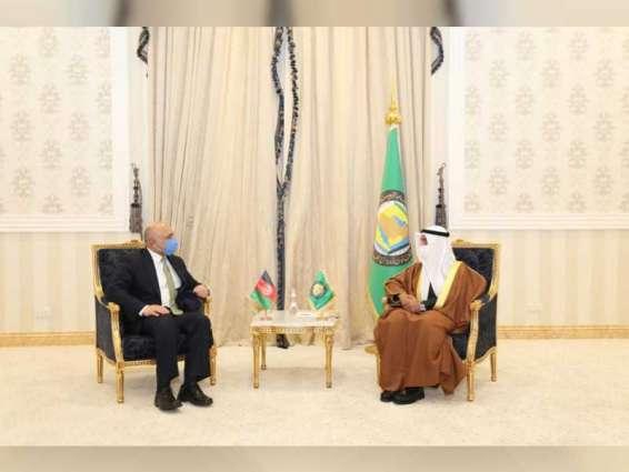 مجلس التعاون الخليجي وأفغانستان يبحثان آليات التعاون المشترك