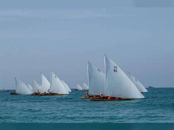 Sheikh Zayed Heritage Festival Dhow Sailing Race 22FT starts tomorrow in Abu Dhabi Corniche